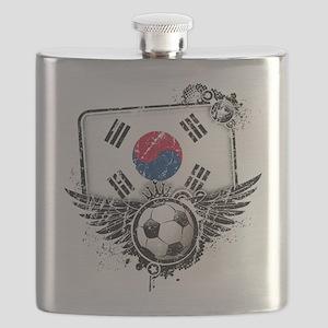 Soccer fan South Korea Flask