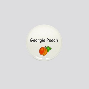 Georgia Peach Souvenir Mini Button