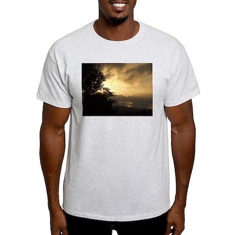 Intense sunset Ash Grey T-Shirt