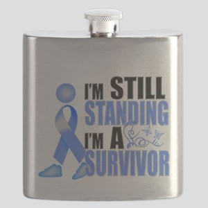 2-Still Colon Cancer Survivor Flask