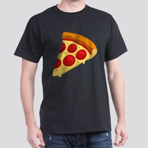 Pizza Emoji Dark T-Shirt