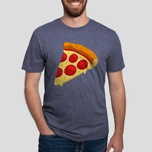 Pizza Emoji Mens Tri-blend T-Shirt
