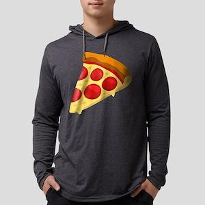 Pizza Emoji Mens Hooded Shirt
