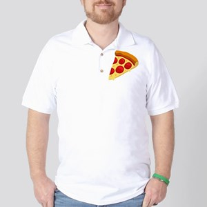 Pizza Emoji Golf Shirt