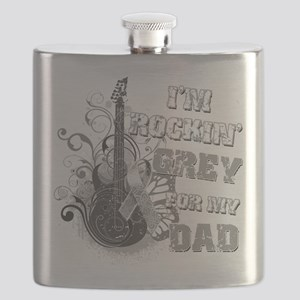 Im Rockin Grey for my Dad Flask