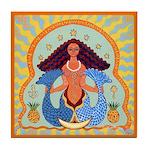 Yemaya Tile Coaster