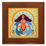 Yemaya Framed Tile