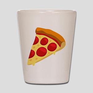 Pizza Emoji Shot Glass