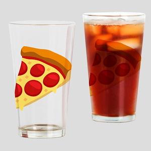 Pizza Emoji Drinking Glass