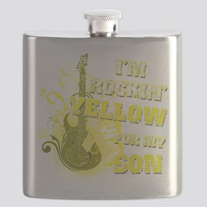 Im Rockin Yellow for my Son Flask