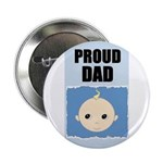 PROUD DAD Button