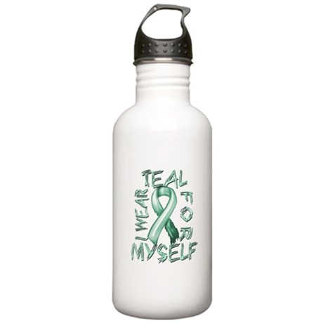 I Wear Teal for Myelf Stainless Water Bottle 1.0L