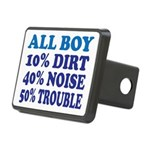 All Boy Rectangular Hitch Cover