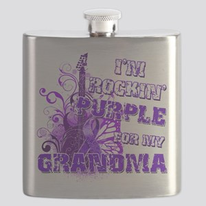 Im Rockin Purple for my Grandma Flask
