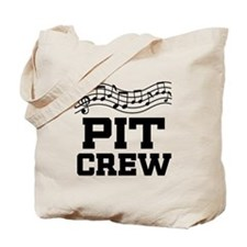 Pit Crew Marching Band Tote Bag
