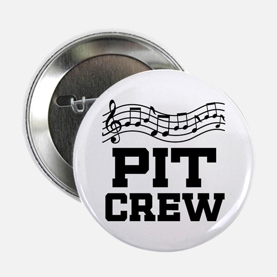 "Pit Crew Marching Band 2.25"" Button"