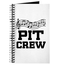 Pit Crew Marching Band Journal