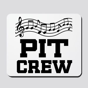 Pit Crew Marching Band Mousepad