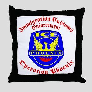 Operation Phoenix Throw Pillow