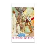 Sleeping Beauty 35x21 Wall Decal
