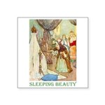 Sleeping Beauty Square Sticker 3