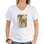 Sleeping Beauty Women's V-Neck T-Shirt