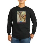 Sleeping Beauty Long Sleeve Dark T-Shirt