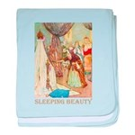 Sleeping Beauty baby blanket