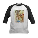 Sleeping Beauty Kids Baseball Jersey