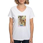 Sleeping Beauty Women's V-Neck T-Shirt