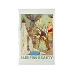 Sleeping Beauty Rectangle Magnet