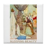 Sleeping Beauty Tile Coaster