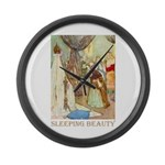 Sleeping Beauty Large Wall Clock