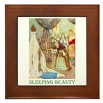 Sleeping Beauty Framed Tile