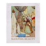 Sleeping Beauty Throw Blanket
