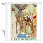 Sleeping Beauty Shower Curtain