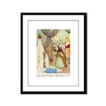 Sleeping Beauty Framed Panel Print