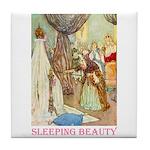 Sleeping Beauty Tile Coaster