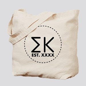 Sigma Kappa Circle Tote Bag