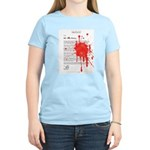 Re: Your Brains Women's Pink T-Shirt