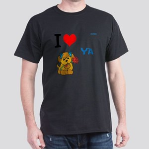 OYOOS Love Dog design Dark T-Shirt