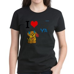 OYOOS Love Dog design Women's Dark T-Shirt