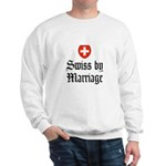 Swiss by Marriage Sweatshirt