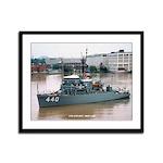USS EXPLOIT Framed Panel Print