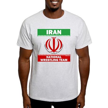 7395b9b32 Iran National Wrestling Team (white) Light T-Shirt Iran National Wrestling  Team (white) T-Shirt