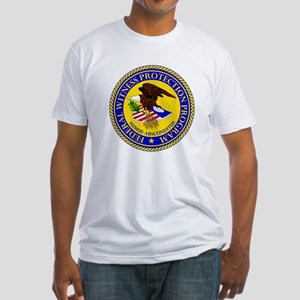 Witness Protection Fitted T-Shirt
