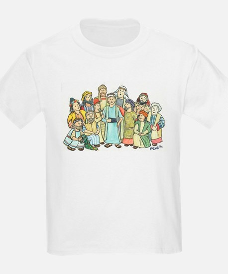 Joseph and Brothers Kids T-Shirt