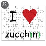I Love Zucchini Puzzle