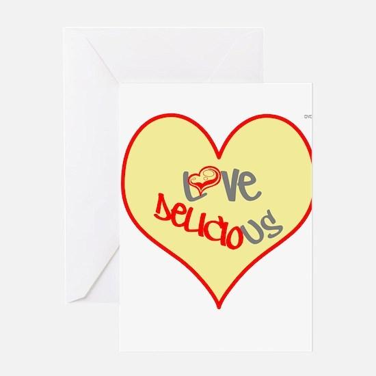 OYOOS Love Heart design Greeting Card