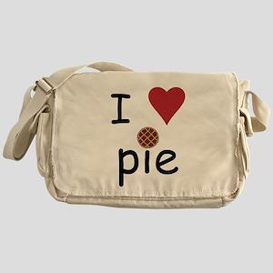 I Love Pie Messenger Bag